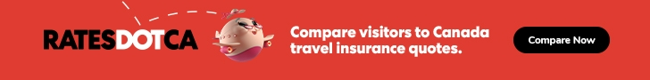 Compare visitors to Canada insurance quotes.