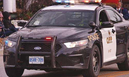 An Ontario Provincial Police (OPP) car