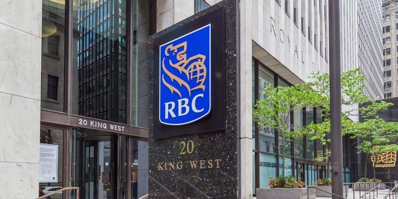 The RBC bank in downtown Toronto